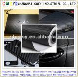 Vinyle superbe de fibre de carbone de la qualité 3D/4D/5D pour l'enveloppe de véhicule