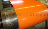Bobinas prepintadas del acero para el uso del panel o de la decoración de emparedado
