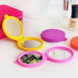 Förderung-Geschenk-Silikon-mini kosmetische Spiegel-Beutel-Spiegel-Abdeckung