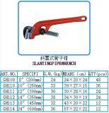 Регулируемые Angled инструменты оборудования высокого качества ключа для труб смещения