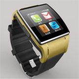 Android&Iosのためのカメラが付いているGelbert Bluetoothのケイ素のスマートな腕時計