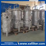 Cartucho de acero inoxidable la caja del filtro, filtro buque para el tratamiento de agua