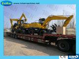 Excavatrice à chenilles lourds de l'équipement de construction pour la vente avec certificat CE