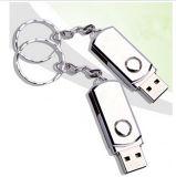 A movimentação real 4GB do flash do USB do metal da capacidade, 8GB, 16GB, 32GB, pena minúscula da vara da memória de 64GB Pendrive mini conduz Microdata Pendrive