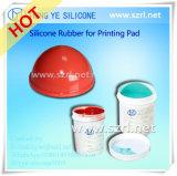 RTV-2 borracha de silicone líquido para impressão de almofadas