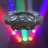 새로운 9*10W LED 거미 이동하는 헤드 LED 빛