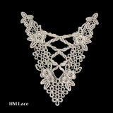 Collare decorativo del merletto di Timming del collare del reticolo fantastico per l'accessorio X016 dell'indumento
