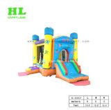 Tricolor kleines Schloss-aufblasbares kombiniertes für Kinder