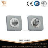 Escalada de porta quadrada / liga de zinco com furo de cilindro (ZR11 / KR3)