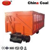 Carrinho de carvão de Mineração Side-Discharging Mcc com funil de alimentação
