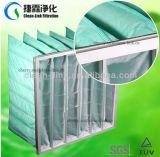 F6 de eficiencia media del filtro de aire de bolsillo