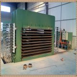 Máquina de pressão a quente de alta qualidade para a Madeira