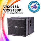La alta calidad Vrx918sp escoge el rectángulo del altavoz de 18inch Subwoofer