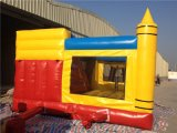 SaleのためのSlideの狂気のNew Inflatable Pencial Bouncy Castle