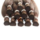 Extensão desenhada natural do cabelo da cor natural brasileira do volume do cabelo