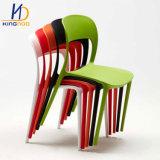 Cadeira de Plástico para interiores e exteriores empilháveis, para interiores residencial restaurante
