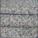 Tecido de revestimento impresso pigmento de poli-viscose para vestuário