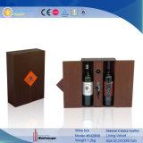 Brown case des emballages de vin (5428)