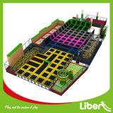 De binnen Apparatuur van de Spelen van het Park van de Trampoline van de Tiener voor de Sporten van de Gymnastiek