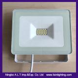 シンプルな設計細いアルミニウムLED洪水ライト10-30W