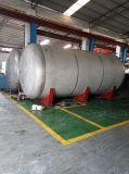 El tanque de acero inoxidable horizontal modificado para requisitos particulares