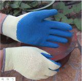 10g het met een laag bedekte Latex van de Kreuk Gloves Fabriek van de Handschoen van het Werk van de Greep de Beschermende