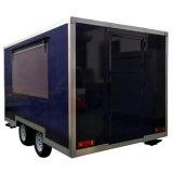 La nourriture transporte en charrette le véhicule mobile de nourriture de remorque de nourriture de rue de kiosques avec des roues