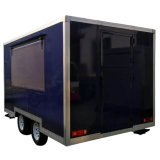 Nahrung karrt Kiosk-Straßen-Nahrungsmittelschlußteil-mobiles Nahrungsmittelauto mit Rädern