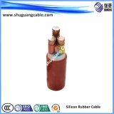 Низкое напряжение тока/кабель сердечников силикона Multi