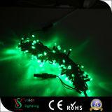 Grüne LED Zeichenkette-Lichter der Dekoration-IP65 mit Belüftung-Kabel