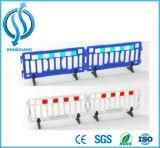 Glissière de sécurité en plastique escamotable de circulation