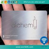 Нержавеющая визитная карточка металла для управления членства VIP