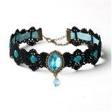 Готское панковское ожерелье кристалла ювелирных изделий чокеровщика ворота