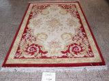 Hot vendre 100 % laine carreaux de tapis faits main