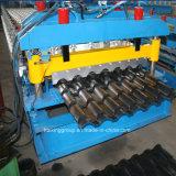 機械装置を形作る艶をかけられた鋼鉄屋根瓦ロール