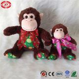 Xmas Monkey meilleur vendeur mascotte populaire en peluche jouet spécial