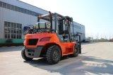 Chariot élévateur à fourche la machine 5 tonne/diesel GPL Chariot élévateur à fourche avec mât triplex
