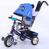 Triciclo del bambino della rotella della pompa di aria con il pedale