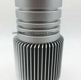 CNC 6063 6061 подвергая механической обработке/алюминиевое штранге-прессовани/алюминиевое освещение профилей/СИД/солнечный цветок/алюминиевые радиатор/теплоотвод