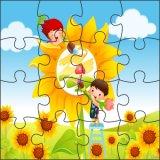 Puzzles de madera al por mayor de imán para regalo de promoción