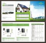 Fuera de la red del sistema solar la energía lumínica panel PV de Almacenamiento de Energía Solar para Home-Using soporte de montaje