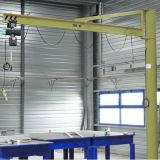 Grúa de pluma de luz para uso en taller