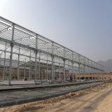中国製プレハブの鉄骨構造の研修会の建物