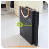 UHMWPE変化カラーのクレーンアウトリガーパッドのためのプラスチック黒いクレーンアウトリガーパッドの/PEシート