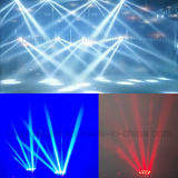8X10W RGBW 4in1 LED Dicso DJ irradiano l'indicatore luminoso capo mobile del ragno