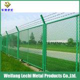 Ce revêtement en PVC certifiée et galvanisé Treillis soudés pour un terrain de jeux et de la ferme de clôture