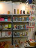 Pailles à base de néon couleur avec emballage en boîte en PVC