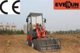 Qingdao Everun 0,8 tonne Mini Radlader articulé avec godet ordinaire
