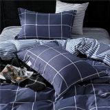 安い価格はMicrofiberポリエステル羽毛布団カバー寝具を印刷した