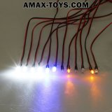 911004-slimme LED System Support Ppm/FM/Fs 2.4G System voor 1/10 Tamiya Touring Car